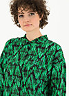 slow flow blusette, emerald palace, Blouses & Tunics, Black