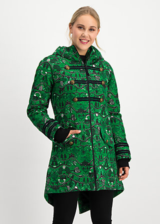 something to believe in coat, wizard of bluts, Jackets & Coats, Green