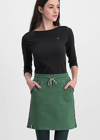 sporty sister skirt, retro green, Röcke, Grün