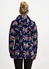 the beauty of the east coat, bouquet for auntie, Jackets & Coats, Blue