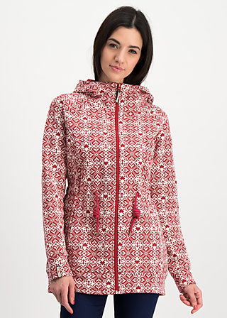 the beauty of the east coat, pixie heart, Jackets & Coats, Red