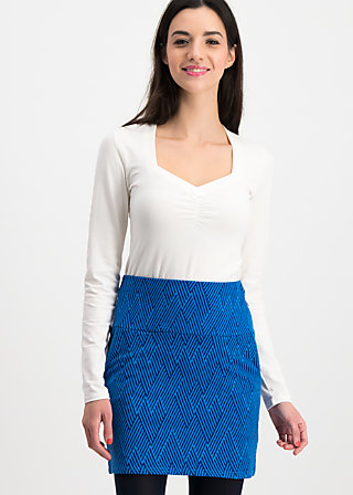 tingle tangle skirt, saphir blue , Röcke, Blau
