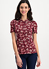 totally toto bubi blouse, friends forever , Shirts, Rot