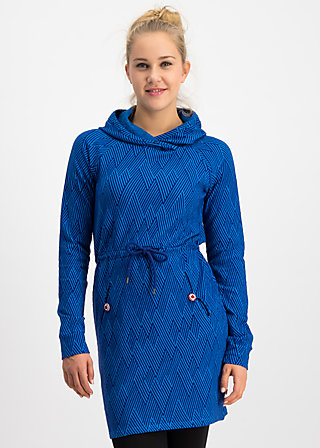 welcome home longsweat , saphir blue , Pullover & leichte Jacken, Blau