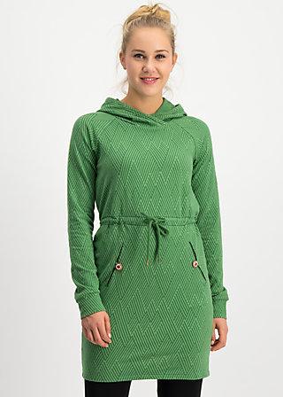 welcome home longsweat , smaragd green , Pullover & leichte Jacken, Grün