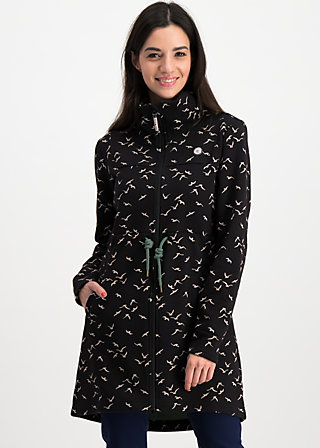witch of the west longzip, free as a bird , Jackets & Coats, Black
