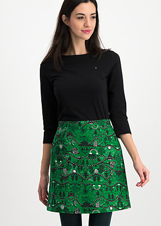 yellow brick road skirt, wizard of bluts, Skirts, Green