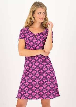 Summer Dress elephants and lemonade, pink elephants, Dresses, Purple