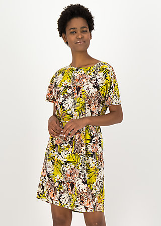 Tunika-Kleid hakuna matata, tiger treasure, Kleider, Schwarz