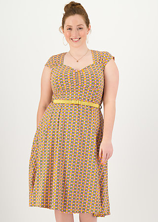 Summer Dress heart on fire, mangoon magroves, Dresses, Yellow