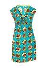 Summer Dress kap knot, papaya punch, Dresses, Turquoise