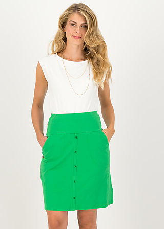 Summer Skirt la vie est super, green tree, Skirts, Green