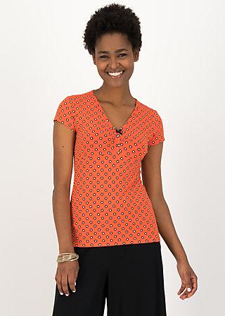 Jersey T-Shirt mon coeur, bingo dots, Shirts, Rot