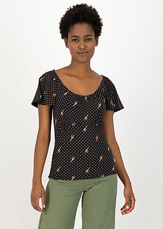 Jersey Shirt new romance, dots of desert, Shirts, Schwarz