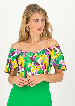 Jersey Shirt new romance, strella bella, Shirts, Weiß