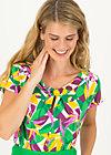 Jersey Top safari sailorette, strella bella, Blouses & Tunics, White