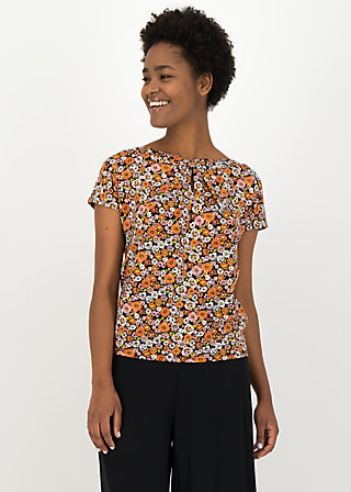 Jersey Shirt safari sailorette, mali meadow, Blusen & Tuniken, Schwarz