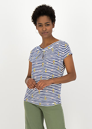 Jersey Shirt safari sailorette, miss cape town , Blusen & Tuniken, Weiß