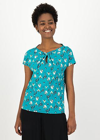 Jersey Shirt safari sailorette, spirit of sahara, Blusen & Tuniken, Türkis