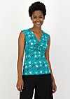 Pinafore Top savanna knot, spirit of sahara, Shirts, Turquoise