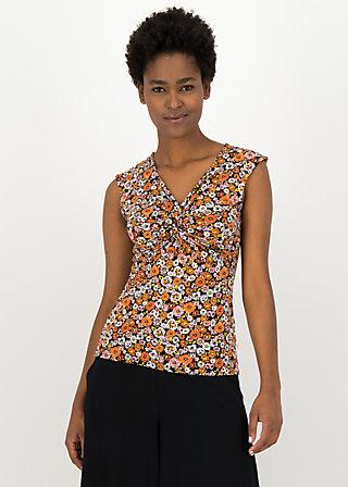 Trägertop savanna knot, mali meadow, Shirts, Schwarz