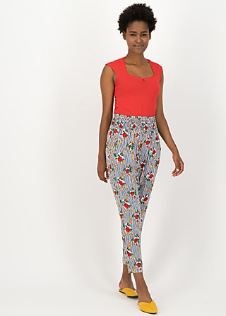 High Waisted Trousers streetlife, day cruise, Trousers, White