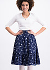 blue moon of kentucky skirt , swinging lasso , Röcke, Blau