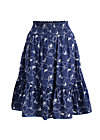 blue moon of kentucky skirt , swinging lasso , Webröcke, Blau