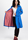 casablanca souvenir trench , dot and anchor, Softshell, Blau