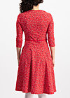 country rose swing dress, paisley power, Kleider, Rot