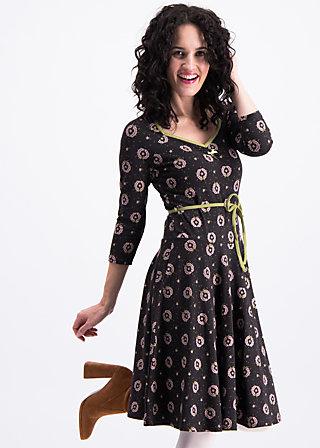 country rose swing dress, promised land, Kleider, Schwarz