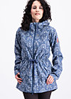 heart in the storm jacket, dutch ornamental , Jackets & Coats, Blue
