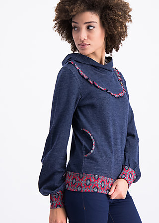 high noon sweat, blue moon, Pullover & leichte Jacken, Blau