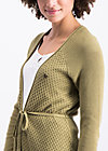 light hearted envelope cardy, green plains, Pullover & leichte Jacken, Grün