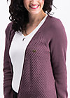 light hearted envelope cardy, purple stone, Pullover & leichte Jacken, Lila