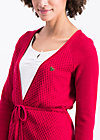 light hearted envelope cardy, red desert, Pullover & leichte Jacken, Rot