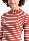 logo stripes turtle longsleeve, earth line, Shirts, Braun