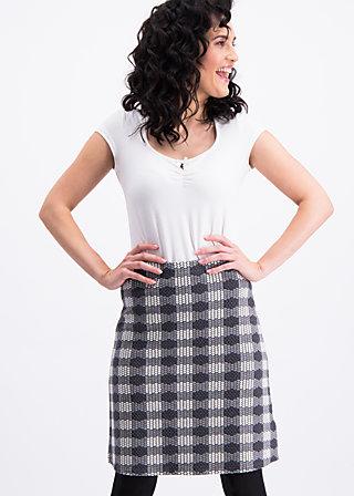 shenandoah sweetheart skirt , round cow, Skirts, Black