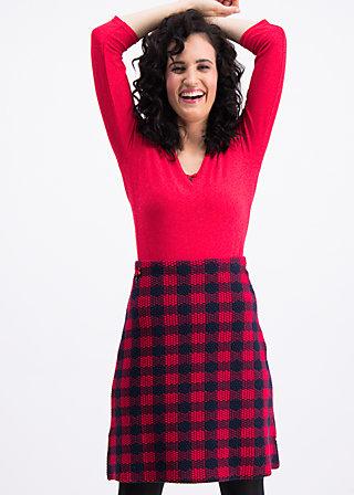 shenandoah sweetheart skirt , round shot , Röcke, Rot