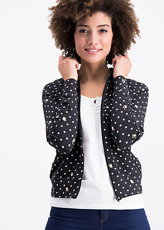 sweet little cowgirl zip, dots of country, Jumpers & lightweight Jackets, Black