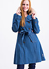 tales of tennessee trench, western denim , Jacken & Mäntel, Blau