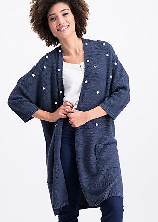 veranda rendezvous cardycoat, sailor knot, Pullover & leichte Jacken, Blau