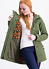wild weather long anorak, into the wild , Jackets & Coats, Green