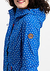 wild weather petit anorak, dot and anchor, Softshell, Blau