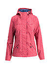 wild weather petit anorak, dot and love, Softshell, Rot