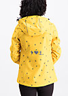 wild weather petit anorak, fly to the sun, Softshell, Gelb
