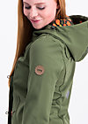 wild weather petit anorak, into the wild , Softshell, Grün