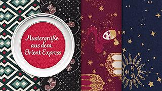 """Mache eine Reise durch die Farbfamilien aus """"Liebesgrüße aus dem Orient Express""""!"""