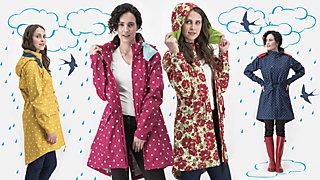 Vorhang auf für unser neues Lieblingsmodell aus unserer Serie der alltagstauglichen Wetterheldinnen!