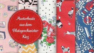 """Unsere vier Stoffgeschichten aus """"Beat of the Kiez""""!"""